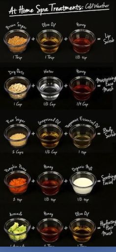 Natural skin and hair remedies! For cold weather!