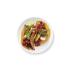 Turkey-Chorizo Tacos | RealSimple.com