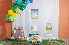 Moana Tropical Birthday Party - Birthday Party Ideas for Kids and Adults Birthday Party Desserts, Moana Birthday Party, 90th Birthday Parties, Moana Party, Birthday Party Decorations, Birthday Party Invitations, Birthday Ideas, Ideas Para Organizar, Party Ideas