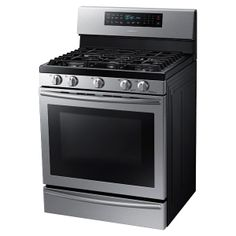 Gas Range with True Convection NX58H5650WS | Ranges