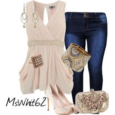 Night of Glitter & Jazz by mswhit62 on Polyvore