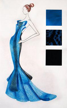 Design sketch fashion fabric swatches 35 ideas for 2019 Trendy Fashion, Classy Fashion, Fashion Fashion, Fashion Shoes, Fashion Dresses, Fashion Portfolio, Portfolio Design, Fashion Network, Fashion Design Sketches