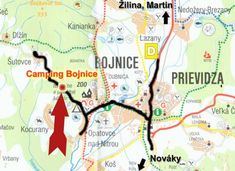 Fotogaléria Camping Bojnice Camping, Map, Campsite, Location Map, Maps, Campers, Tent Camping, Rv Camping