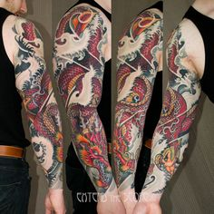 For japanese designs men tattoo dragon