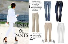 pants and jeans for an hourglass body shape