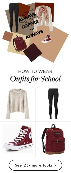 """Untitled #58"" by boobleborp on Polyvore featuring Humble Chic, The Row, Converse, JanSport and CoffeeDate"