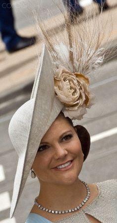Crown Princess Victoria of Sweden, April 30, 2013   The Royal Hats Blog