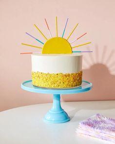 Sunshine Birthday, Summer Birthday, Diy Birthday, Birthday Gifts, Cupcakes, Cake Cookies, Sun Cake, Birthday Party Centerpieces, Snacks Für Party