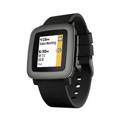 #Smartwatch Pebble Time Negro.   http://www.opirata.com/es/smartwatch-pebble-time-negro-p-36499.html