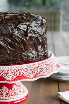 Torta Húmeda de Chocolate | Mi Vida en un Dulce Choco Moist Cake, Moist Cakes, Chocolate Desserts, Chocolate Cake, Dulce Candy, Kinds Of Desserts, Mud Cake, Catering Food, Catering Recipes