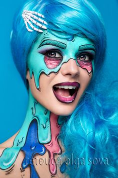 """Check out this @Behance project: """"Beauty retouch and face art"""" https://www.behance.net/gallery/48407353/Beauty-retouch-and-face-art"""
