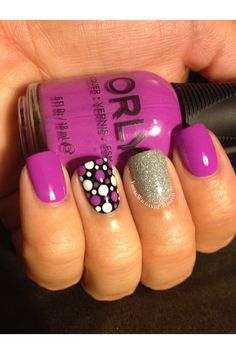 Orly Frolic Dotticure by YoungWildandPolished