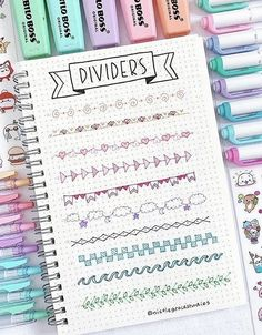 SOME rainbow themed bullet journal spread ideas! I'm so glad that I found these GREAT colorful bullet journal layouts! I'm going to try these bright maximalist bullet journal spreads myself! Bullet Journal Inspo, Bullet Journal Headers, Bullet Journal Banner, Bullet Journal 2019, Bullet Journal Notebook, Bullet Journal Aesthetic, Bullet Journal Spread, Bullet Journal Ideas Pages, Bullet Journal Layout