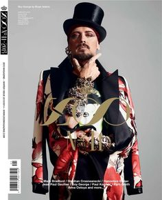 Boy George covers the issue