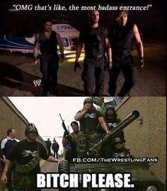 The Shield vs. DX #WWE