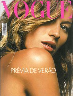 Gisele Bündchen na Vogue - Vogue | News