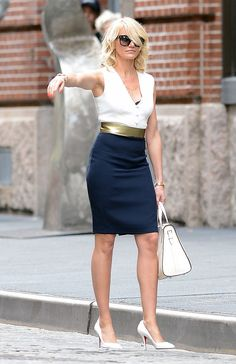 Cameron Diaz's wardrobe in The Other Woman movie was amazing.