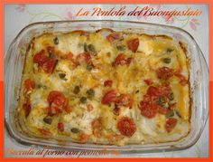 Fish Recipes, Recipies, Fish Dishes, Antipasto, Fish And Seafood, Lasagna, Italian Recipes, Dinner Recipes, Food And Drink