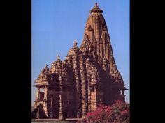 Kandariya-Mahadeva Hindu Temple in Khajuraho, India, 1050.