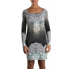 Hale Bob ROMI Jersey Fitted Snake Black Dress of Hale Bob Designers dresses at Sub Couture only $94.00  View more Details at http://bit.ly/hale-bob-dress-romi-4ave6503-jersey-fitted-snake-black  #womensdesignerdresses   #onlineboutiquesuk   #womensclothesonline