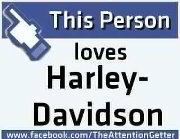 I love Harley Davidson
