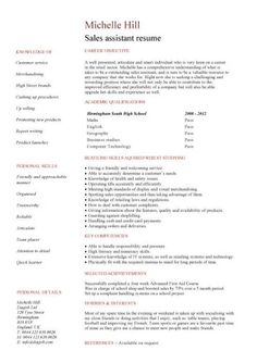 Resumes For Sales Jobs  Sales Resume Download Sales Template