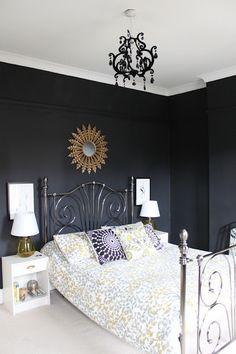 Black bedroom?