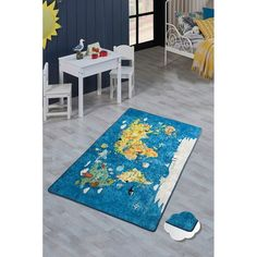 Dětský koberec World Map, 200 x 290 cm Bose, Best Sellers, Kids Rugs, Home Decor, Products, Homemade Home Decor, Kid Friendly Rugs, Decoration Home, Beauty Products