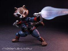 toycutter: Rocket Raccoon custom action figure