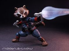 toycutter: Rocket Raccoon custom action figure