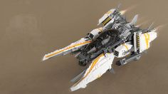 TX Supernova - Vic Viper. Featuring lasers, nuclear railguns, blade blasters, dual boosters, hyperdrive enabled rockets