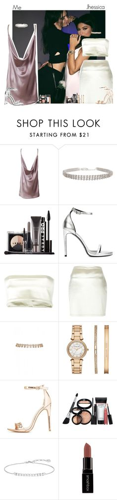 """Party in LA with Jhessica"" by fxrever-isnt-for-everyone ❤ liked on Polyvore featuring Anne Klein, Humble Chic, LORAC, Yves Saint Laurent, Romeo Gigli, Michael Kors, Charlotte Russe, Laura Geller, Thomas Sabo and Smashbox"