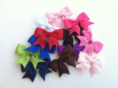 Cute hair bows $1.50 each-lots of colors!
