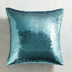 This flashy, sequined Gold & Teal Sequined Mermaid Pillow can change looks to suit your mood and color preference all with a single brush of the hand. The design possibilities are nearly endles… Mermaid Home Decor, Mermaid Bedroom, Mermaid Pillow, Blue Throw Pillows, Toss Pillows, Gold Throw, Accent Pillows, Mermaid Gifts, Sequin Pillow