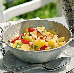 Kartoffel-Radieschen-Salat Rezept | Küchengötter