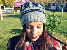 Outfit: Skull Knit Hat