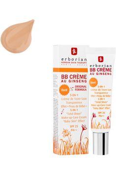 Erborian - BB Crème au Ginseng – Doré – SPF 25 - Birchbox