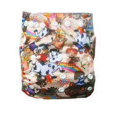 1 Alva BABY Re-Usable Washable CLOTH DIAPER Pocket NAPPY 1 Microfiber INSERT J13 #ALVA #allinonesize