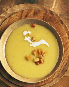 healthy fall dinner: potato soup