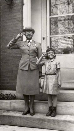 Josephine Holloway, one of the first African American Girl Scout troop leaders who lobbied for the Girls Scout to include African American.