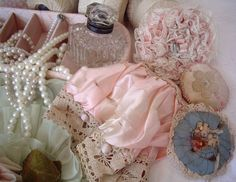 Pink and pearls