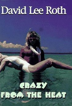 Crazy from the Heat / David Lee Roth ~ The tales from the larger-than-life spectacle that was the glory days of Van Halen are the stuff of rock and roll legend. In this unapologetic, Technicolor, high-fiber blast, David Lee Roth comes across with seemingly unlimited energy and graphic clarity. of photos.
