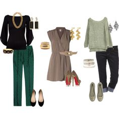 A fashion look from November 2012 featuring loose fitting dresses, boat neck blouse and short shirts. Browse and shop related looks.