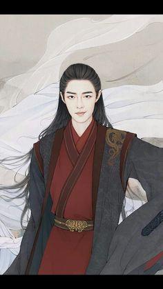 Manga Art, Anime Art, Fantasy Art Men, Drama Memes, Oriental, Chinese Movies, Chinese Man, Handsome Actors, Anime Outfits