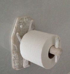 Rustic driftwood toilet roll holder.  Art. Sculpture, Nautical, Marine, Crafts by COASTLINECRAFTS on Etsy