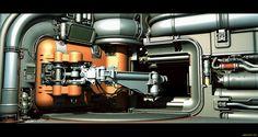 Experiments in Sci-Fi Door Design - Polycount Forum