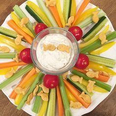 olles *Himmelsglitzerdings*: Snackteller und Dips in 5 verschiedenen Variationen