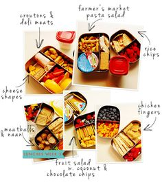 Peek would love this! Bento Box, Lunch Box, Toddler Lunches, Toddler Food, Harvesting Kale, Kids Lunch For School, Daycare Menu, Whats For Lunch, Lunch Snacks