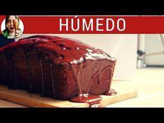 Budín de chocolate HÚMEDO y fácil ft. Frutilla Picante - YouTube