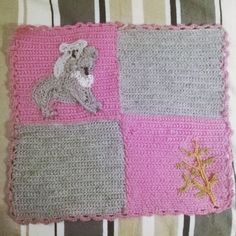 Koala and eucalyptus baby blanket  insta: @mosziszi